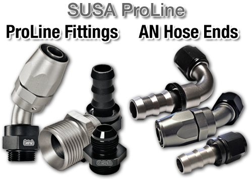 SUSA ProLine and AN Hose Ends